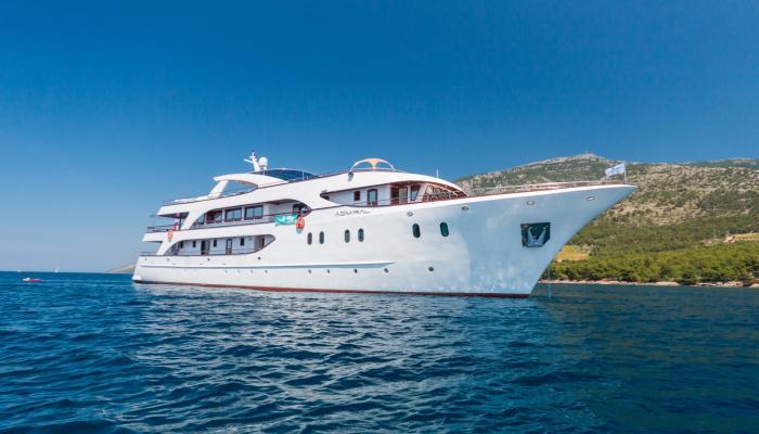 Deluxe krydstogtskib MV Admiral