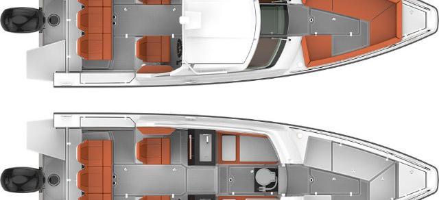 motorbåd Axopar 24 HT