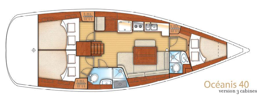 sejlbåd Oceanis 40