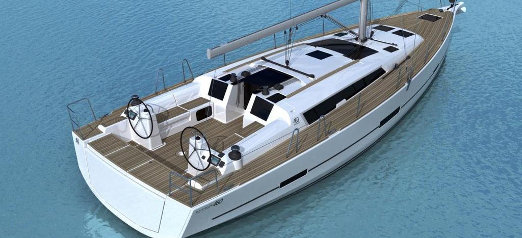 sejlbåd Dufour 460 GL