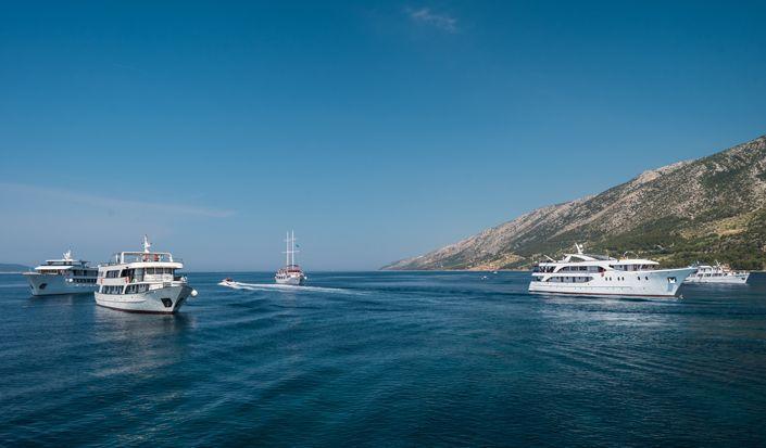"""Klassisk krydstogtplan """"Sydlige perler"""" (Dubrovnik - Split)"""