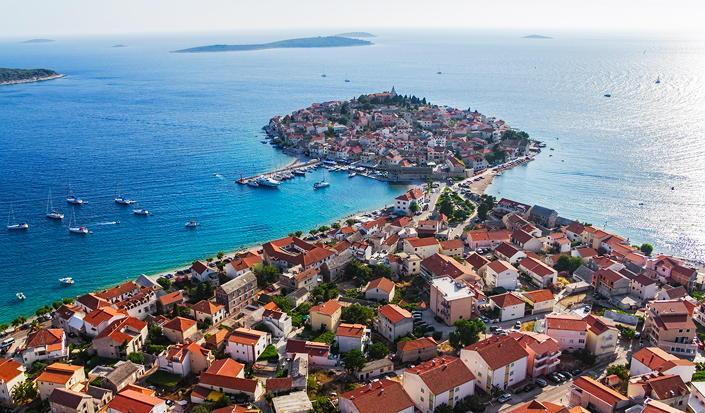 Tidlig sommer sejlads i Kroatien