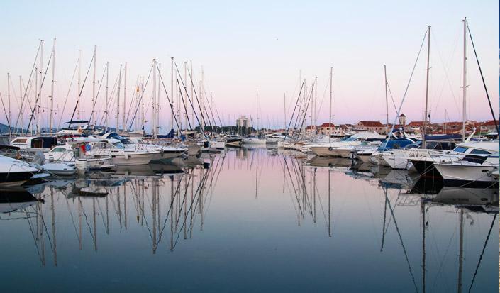 Oversigt over charter flåden i Kroatien