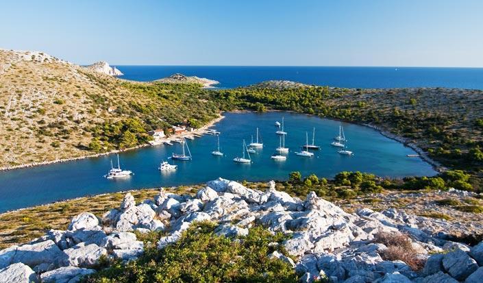 Regional mangfoldighed i Kroatiens Yacht udlejningskatalog
