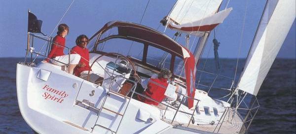 sejlbåd Oceanis 393